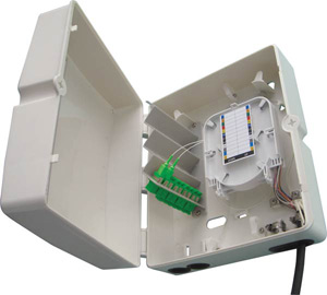 Boîtiers FTTx 36 ports pour traversées de cloison SC simplex